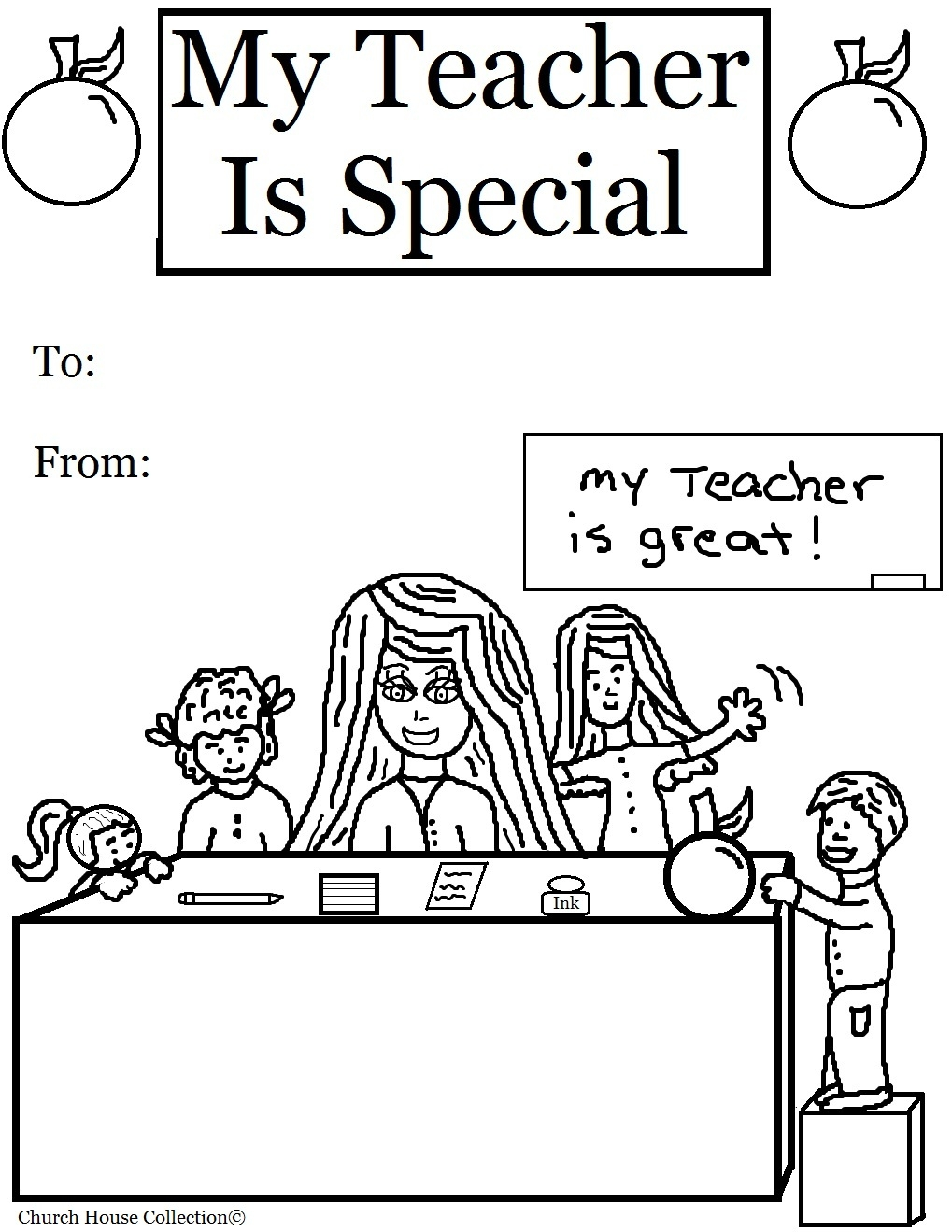 100th day coloring pages - my teacher is special coloring pages