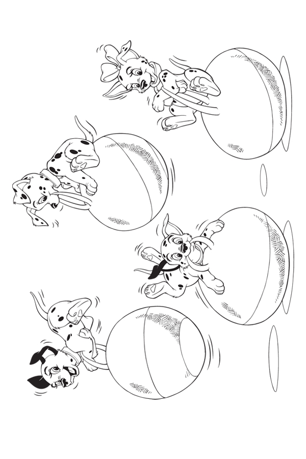27 101 Dalmatians Coloring Pages Selection Free Coloring Pages