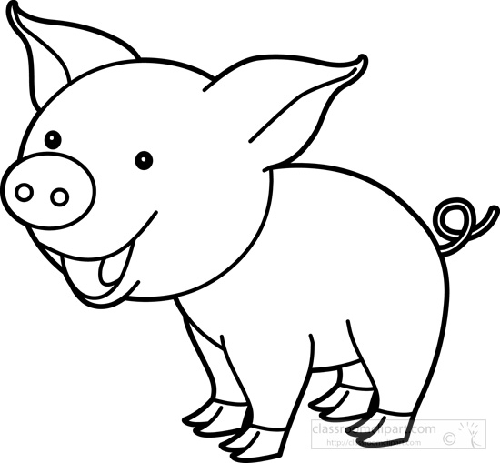 2017 coloring pages - black and white clipart