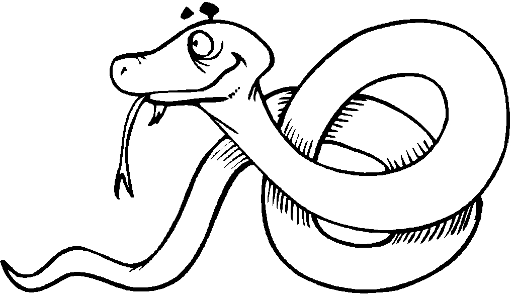 2017 coloring pages - snakes clip art