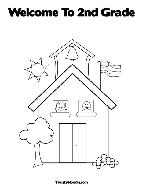 2nd grade coloring pages -