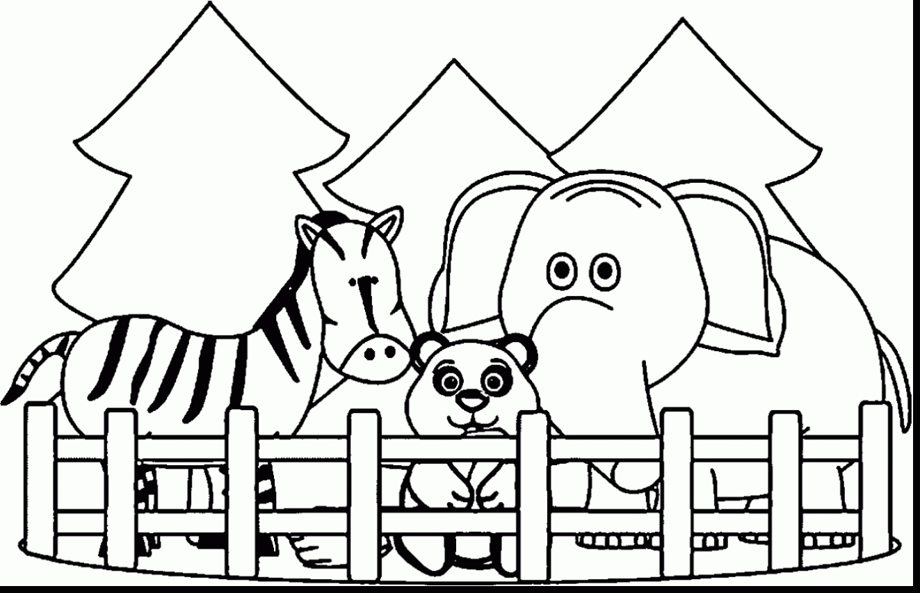 420 coloring pages - zoo clipart black and white30hebcxlgd