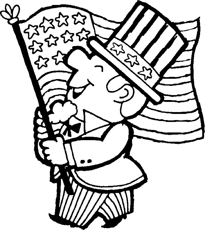 4th of july coloring pages - 4th of july coloring pages