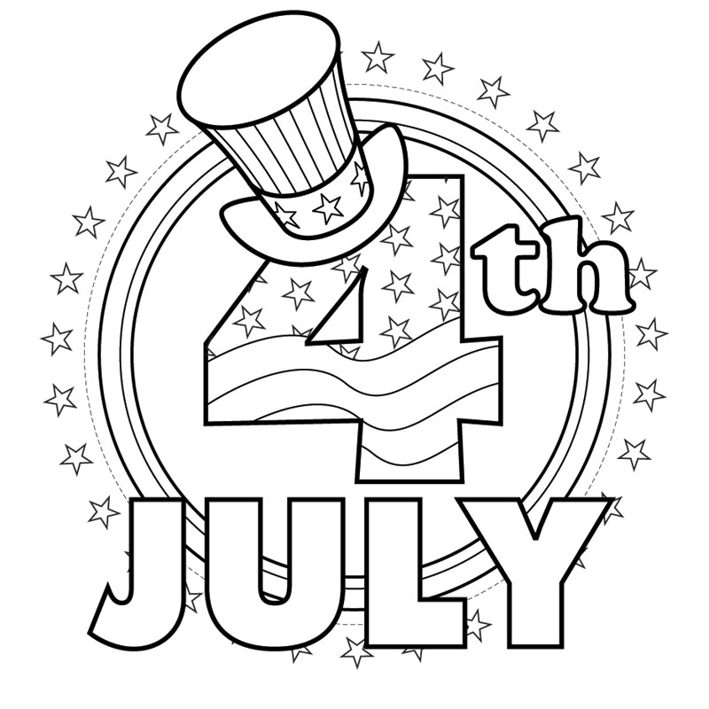 4th of july coloring pages - free 4th of july coloring pages to print