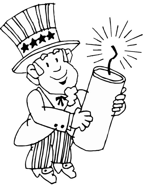 4th of july coloring pages - fourth of july coloring pages
