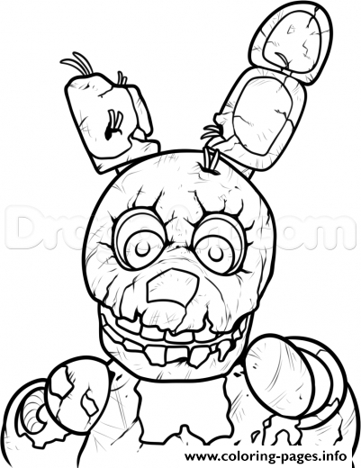 5 nights at freddy's coloring pages - 3 nights at freddys five five nights at freddys fnaf printable coloring pages book