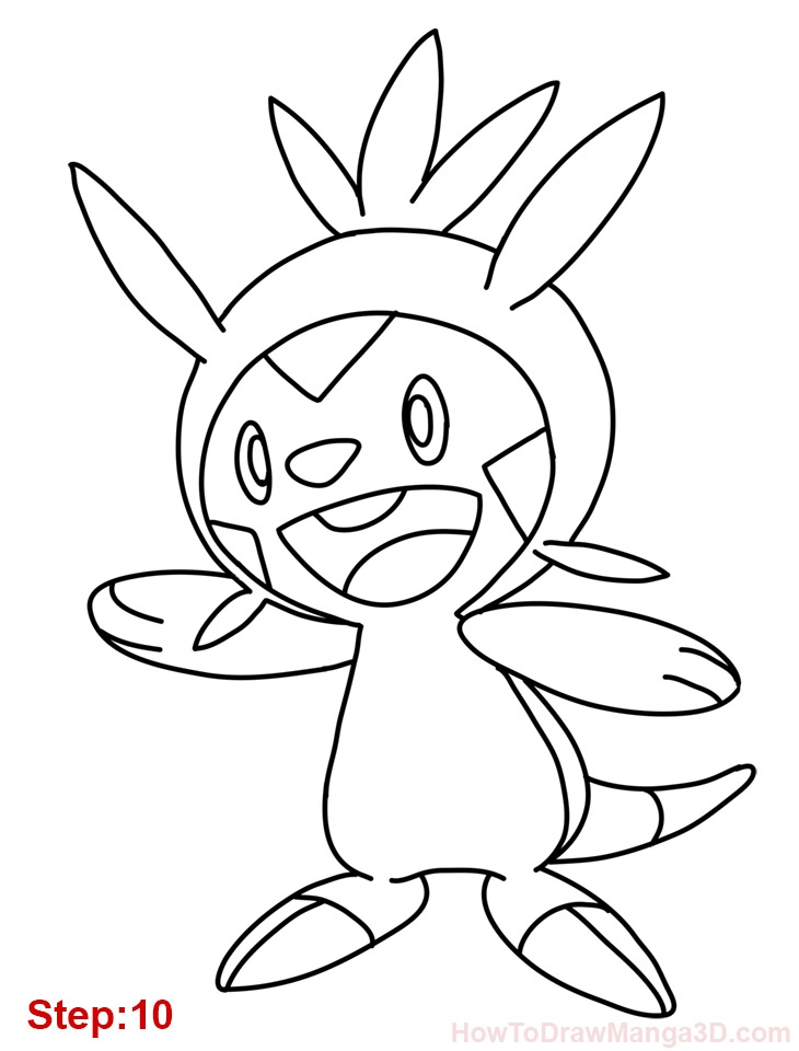 9 11 coloring pages - how draw chespin pokemon