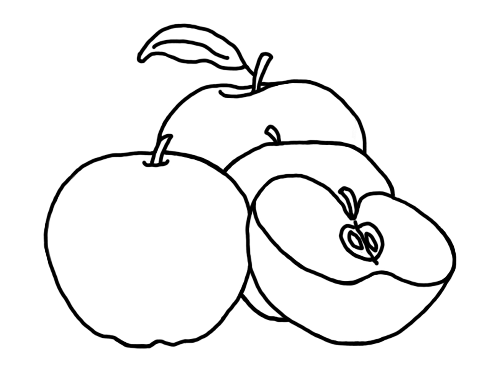 a is for apple coloring page - apple basket coloring page free printable apple coloring pages for kids