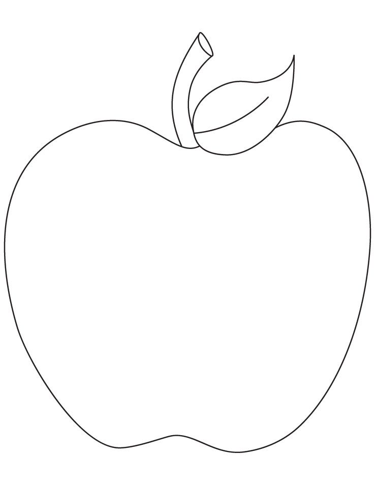 A is for Apple Coloring Page - Free Printable Coloring Page Apple Picking Clipart Best