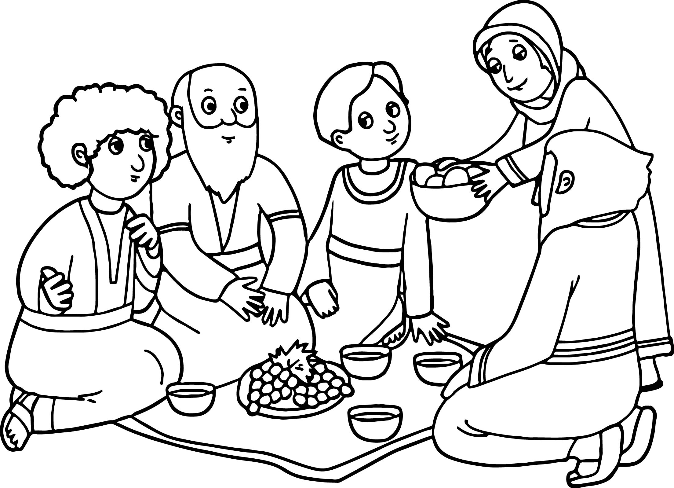 abraham and sarah coloring pages - abraham sarah coloring pages