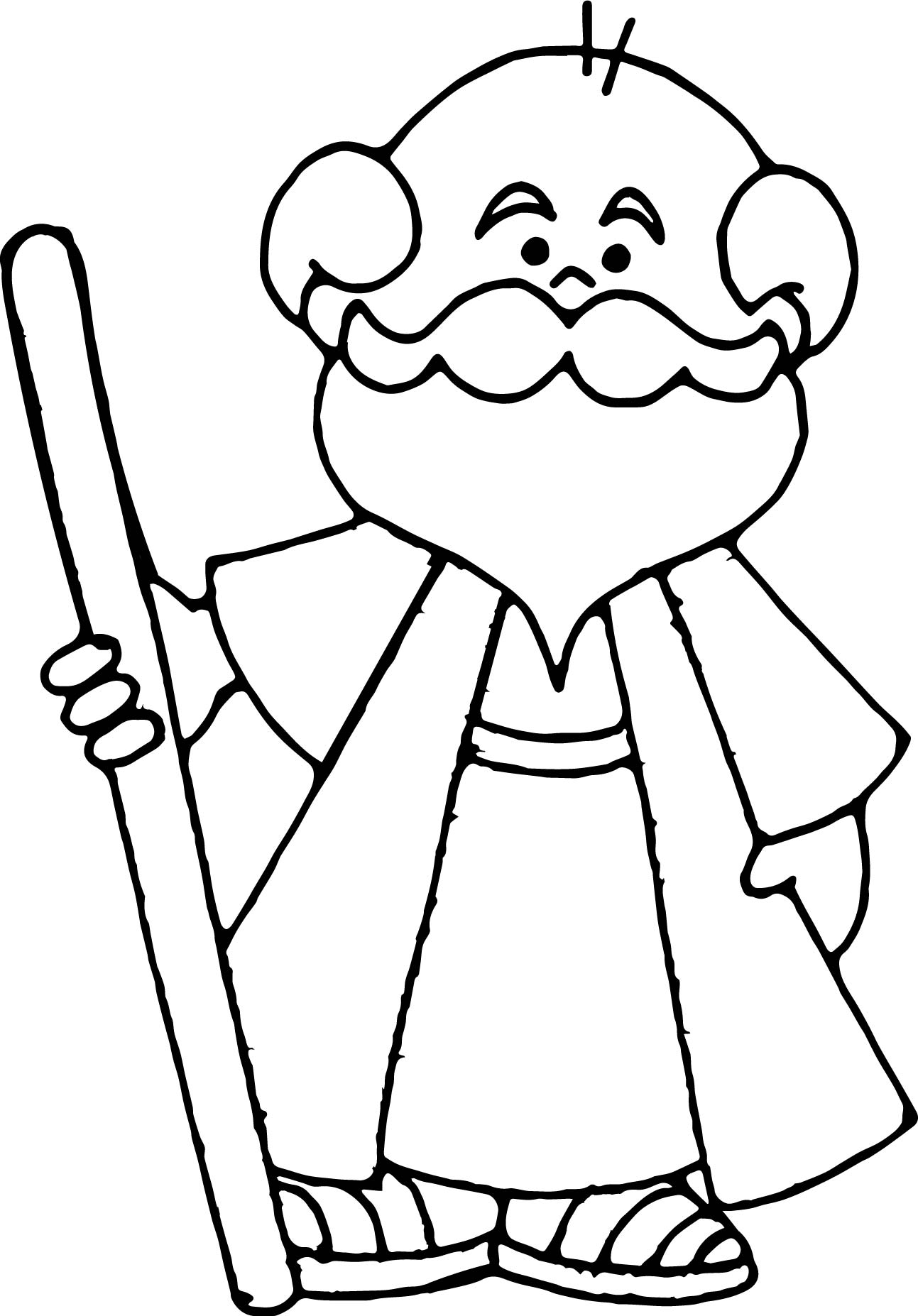 abraham and sarah coloring pages - abraham sarah old man coloring page