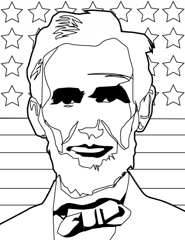 Abraham Coloring Pages - Abraham Lincoln Coloring Page Az Coloring Pages