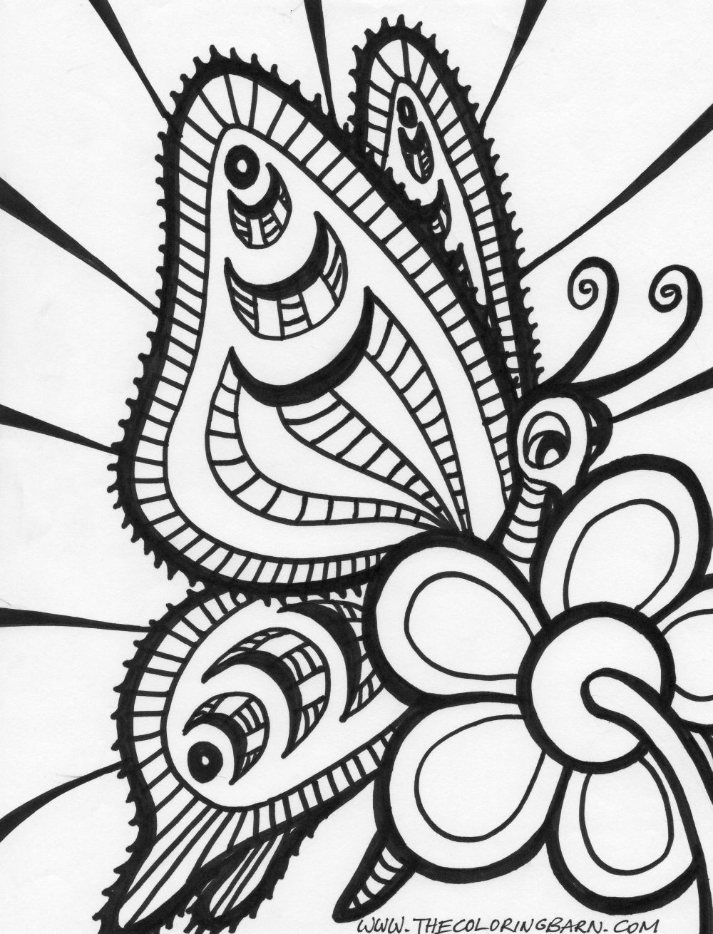 abstract coloring pages - abstract coloring pages for adults
