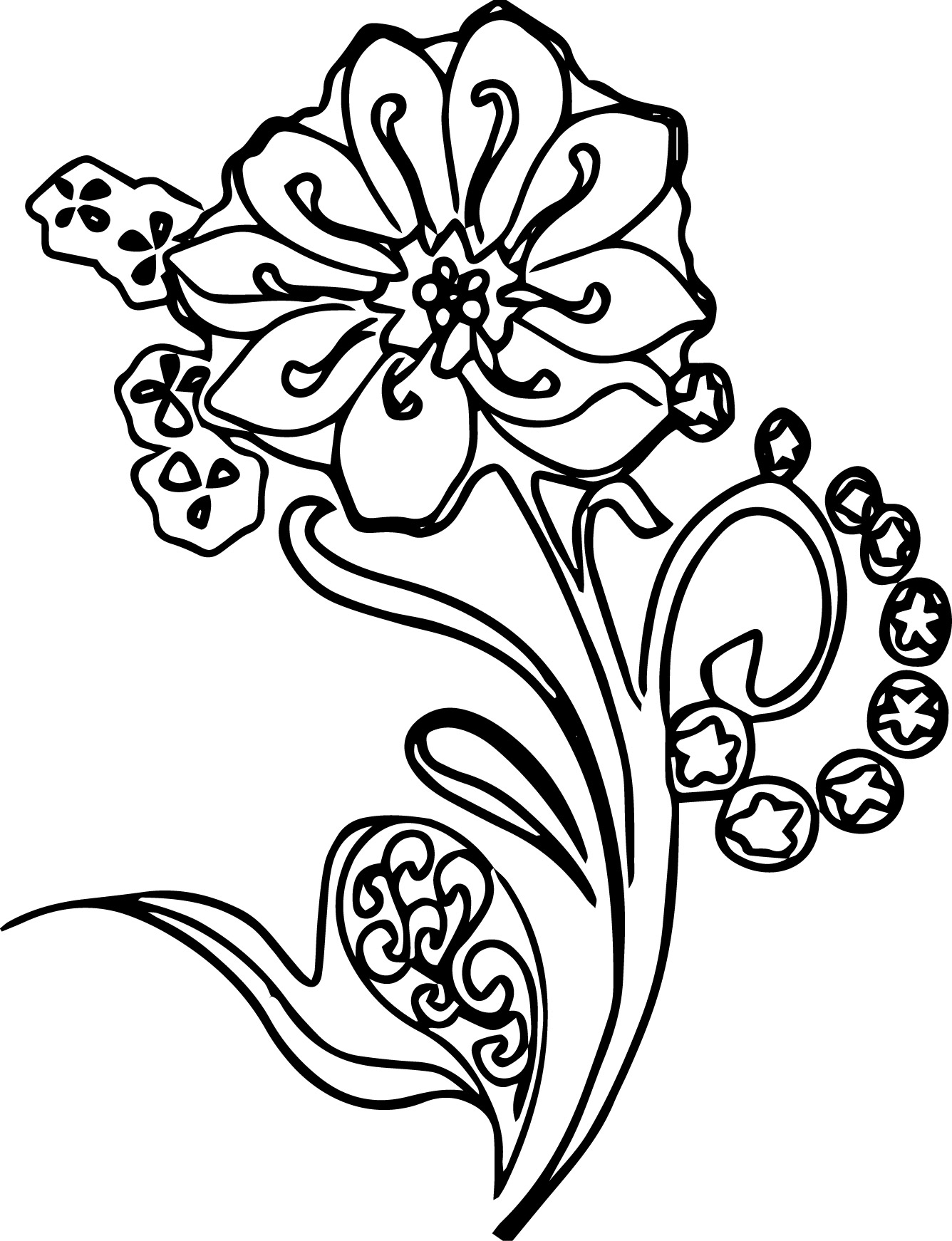 abstract coloring pages - abstract coloring pages