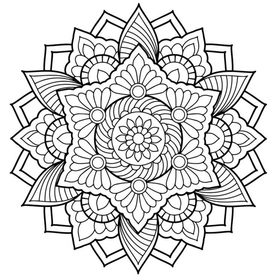 abstract coloring pages - printable abstract coloring pages online