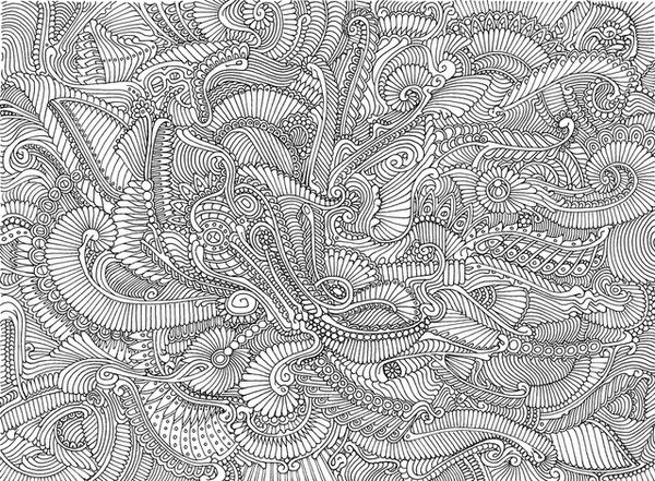 abstract coloring pages for adults -