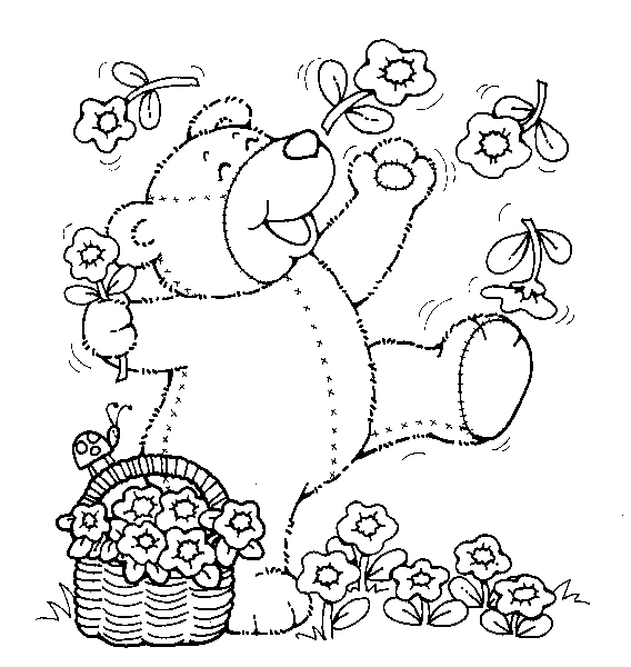 adam and eve coloring page - teddy bear coloring pages