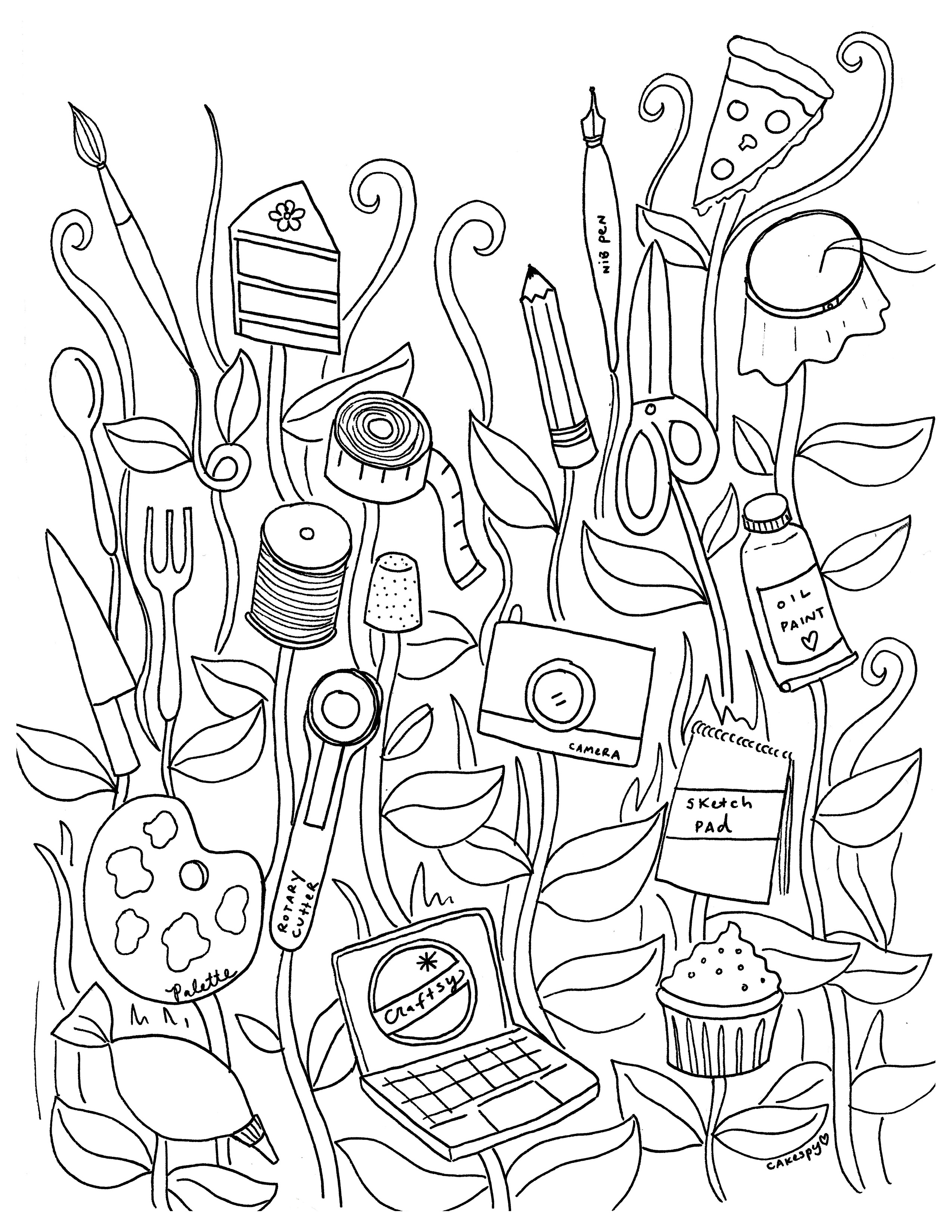 Adult Coloring Book Pages - Free Coloring Book Pages for Adults
