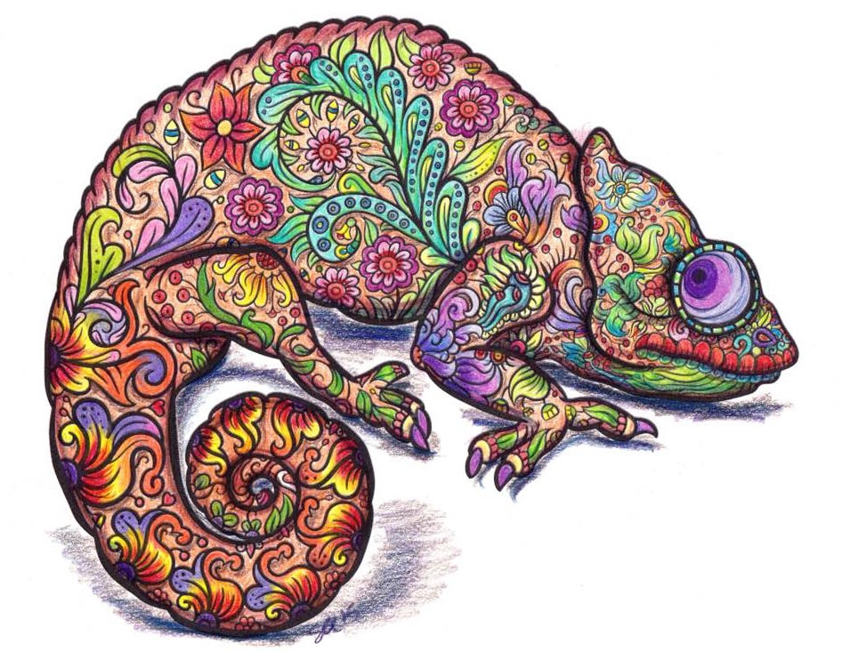 adult coloring pages colored - did you like coloring books as a kid