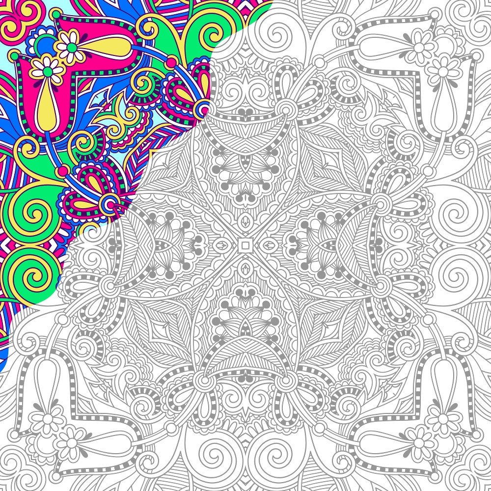 adult coloring pages colored - q=color by number adult