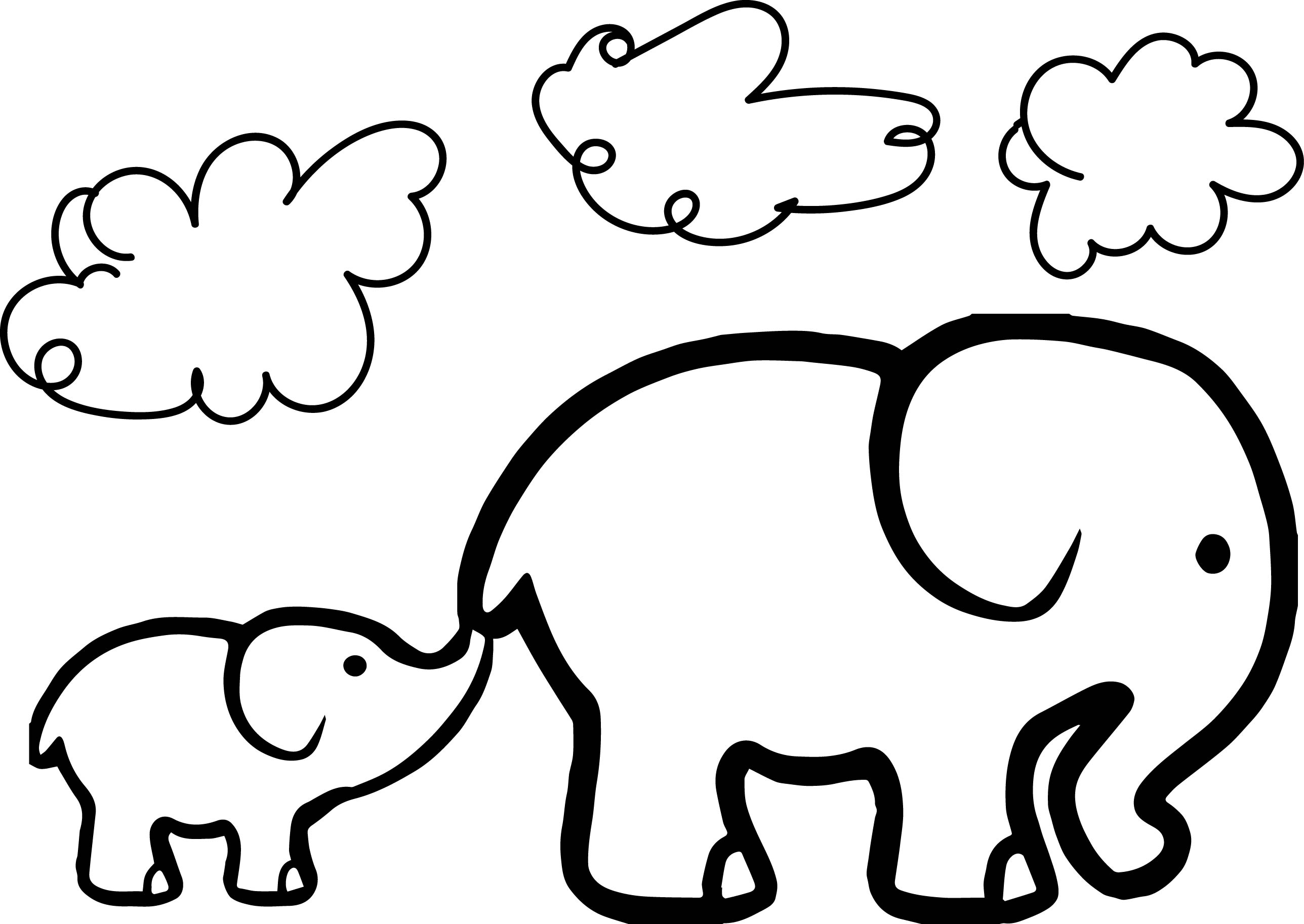 adult coloring pages elephant - baby elephant coloring pages