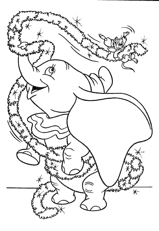 adult coloring pages elephant - dombo kleurplaten