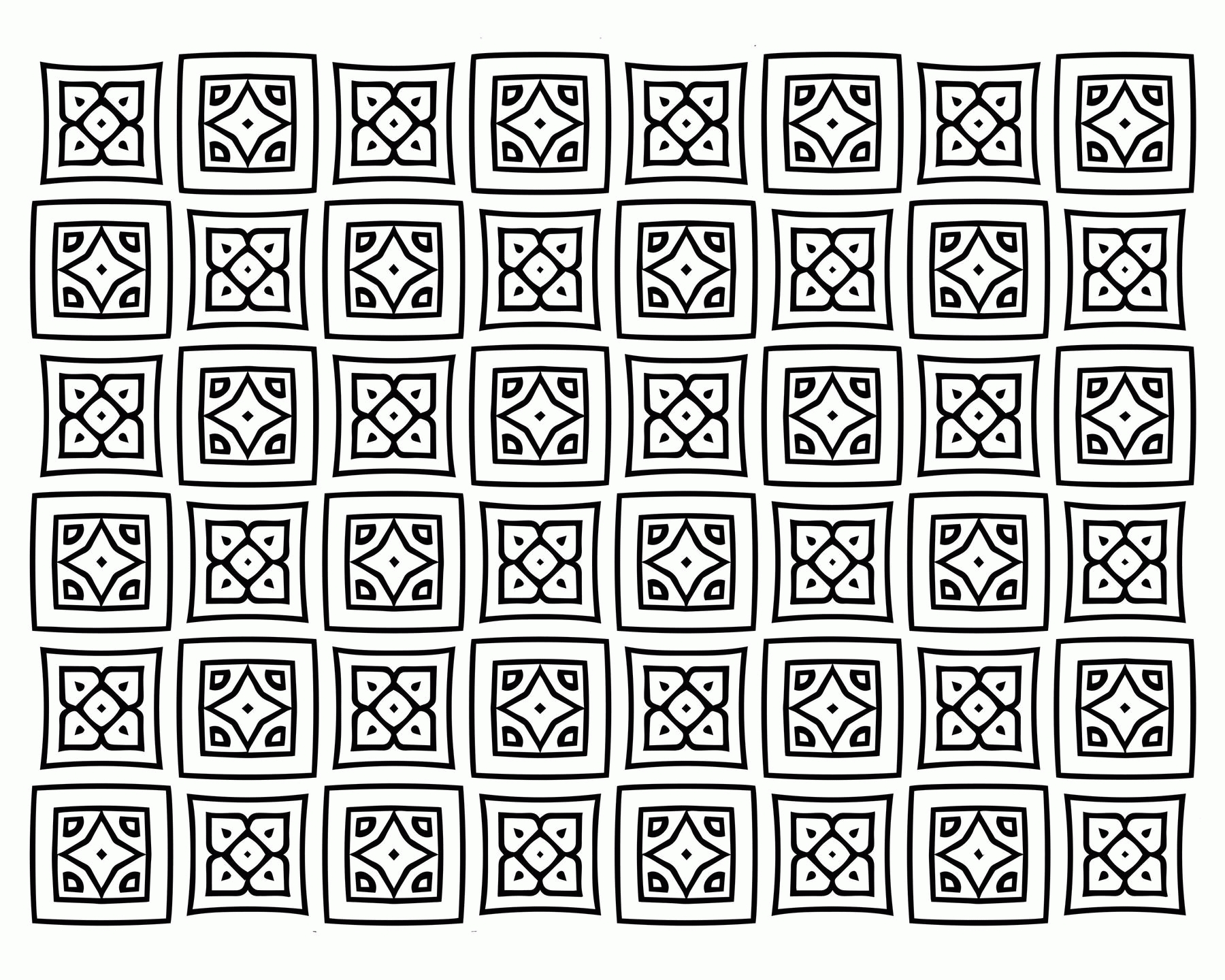 Adult Coloring Pages Patterns