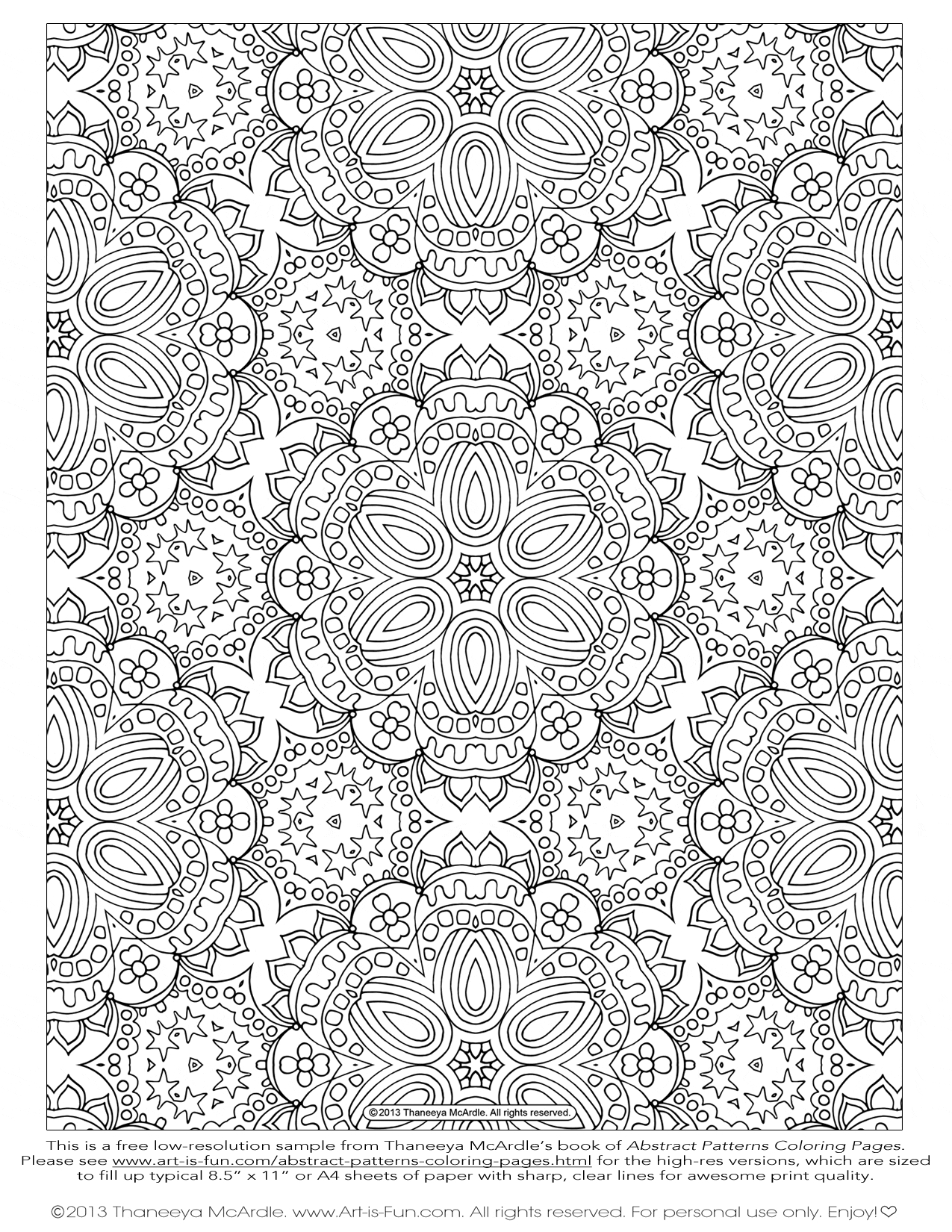 adult coloring pages patterns - floral or paisley patterns