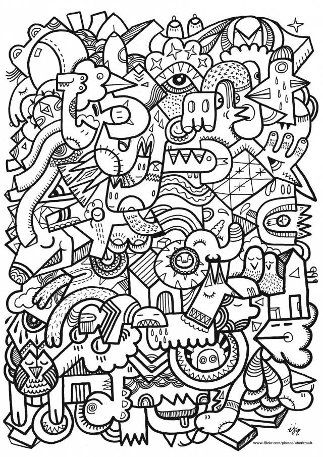 adult coloring pages patterns - pattern coloring pages for adults