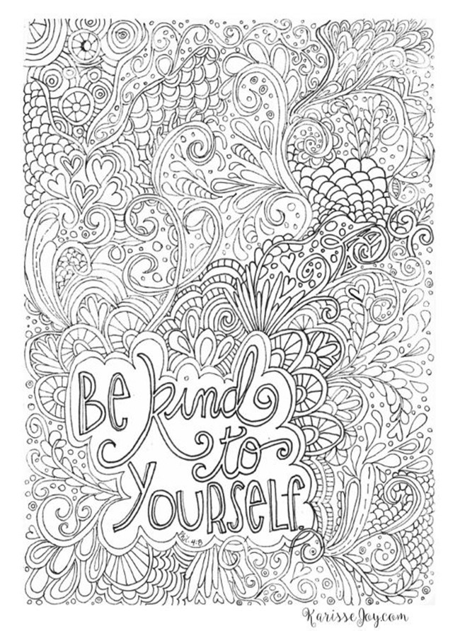 adult coloring pages quotes - 12 inspiring quote coloring pages for adults free printables