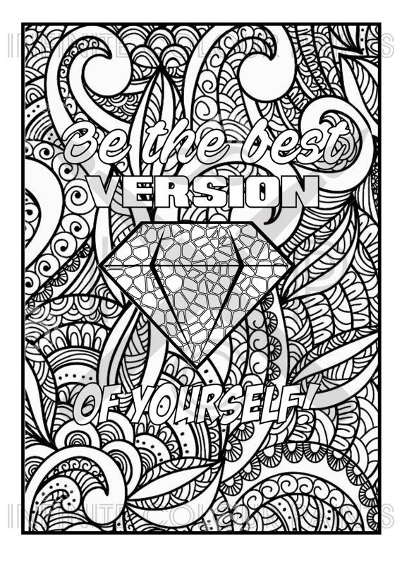 adult coloring pages quotes - quote coloring pages