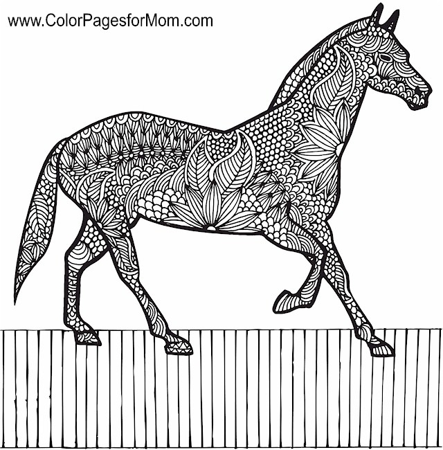 advanced coloring pages - animals123pf