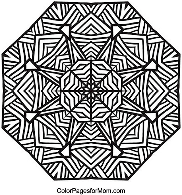 advanced mandala coloring pages - mandala coloring pages advanced level