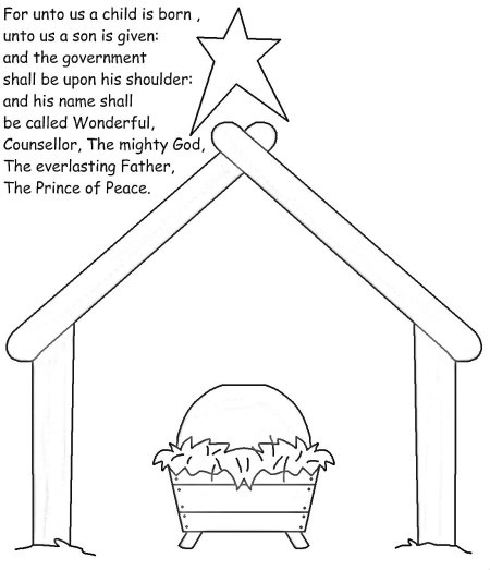 advent coloring pages - post prince of peace coloring page