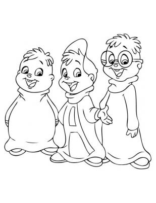 advent coloring pages - alvin und chipmunks1172 group id=1171&position=4