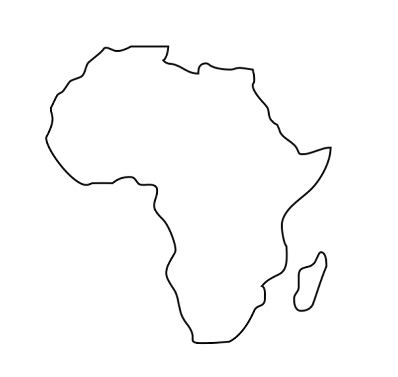 africa coloring pages - africa coloring pages