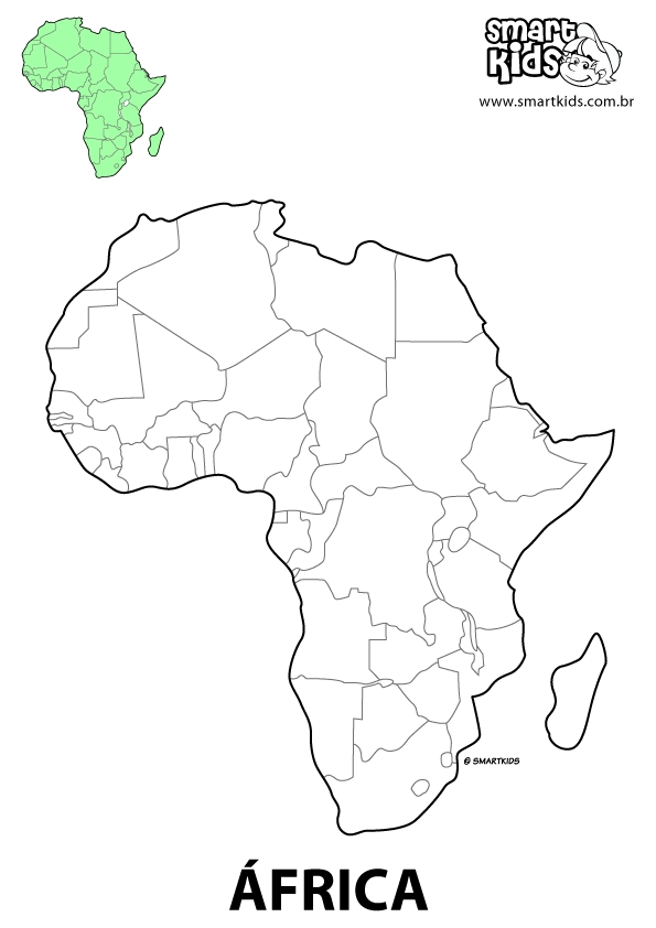africa coloring pages - r=african continent