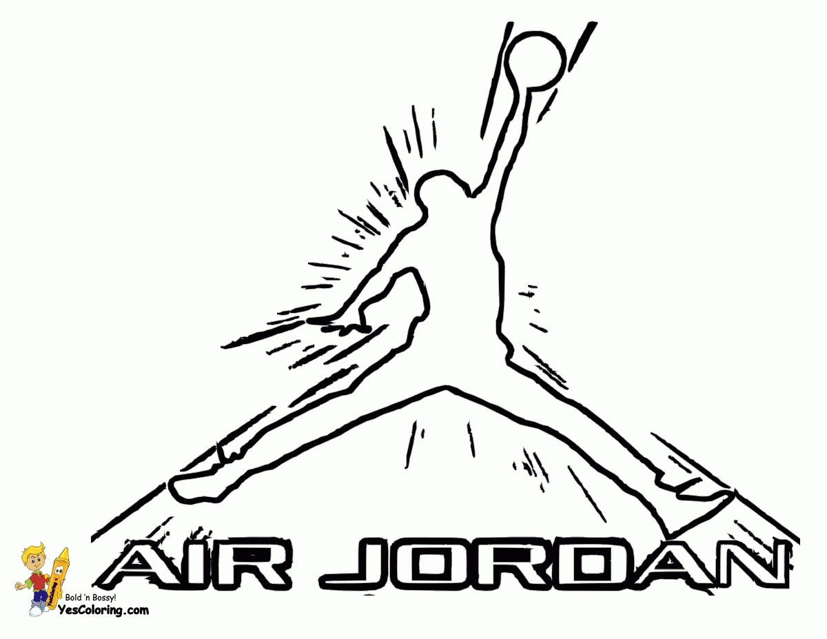 air jordan coloring pages - air jordan coloring pages