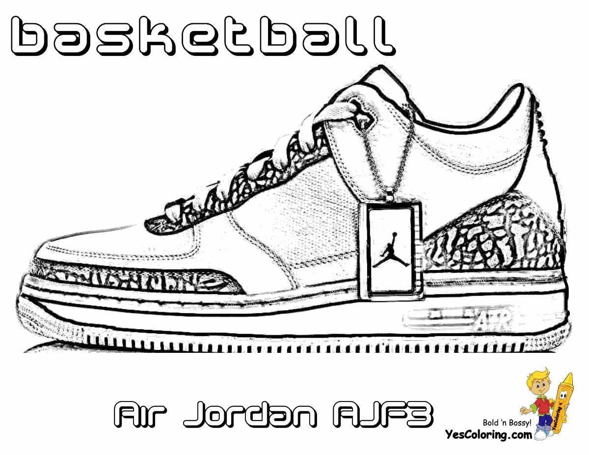 Air Jordan Coloring Pages   Jordan 6 Drawings Sketch Templates