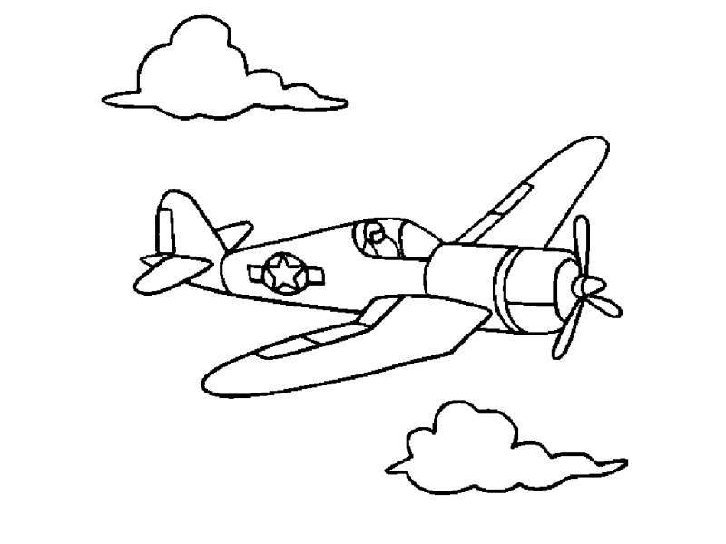 23 Airplane Coloring Pages Collections | FREE COLORING PAGES - Part 3