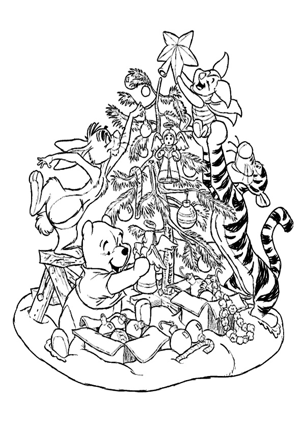 aladdin coloring pages - weihnachten 6