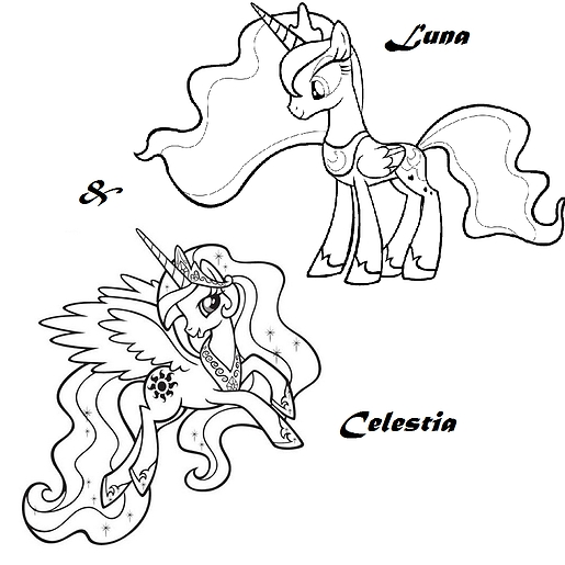 alicorn coloring pages - crbv