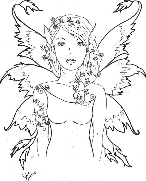 all about me coloring pages - hadas serie 2