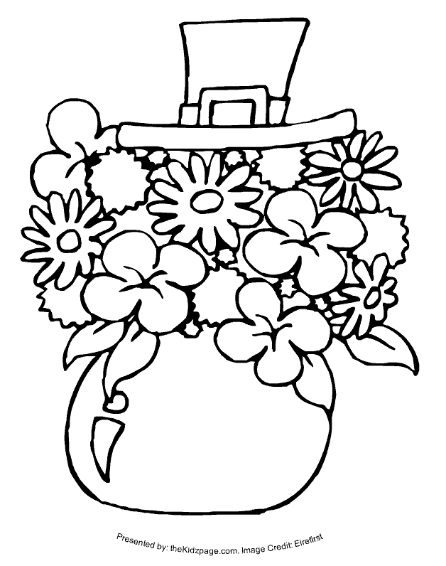all saints day coloring pages - printable st patricks day coloring pages
