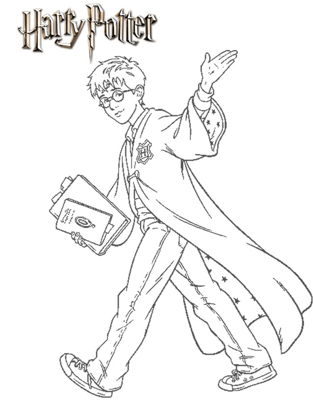 alvin and the chipmunks coloring pages - coloriage harry potter