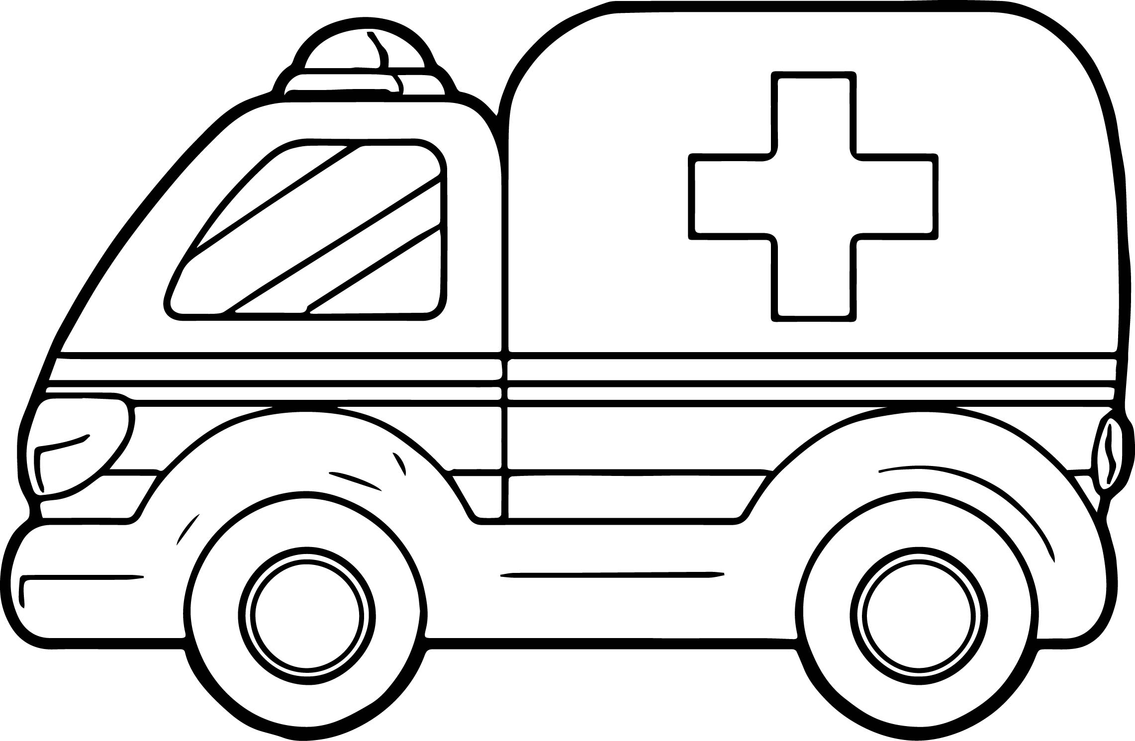 ambulance coloring pages - a ambulance coloring pages
