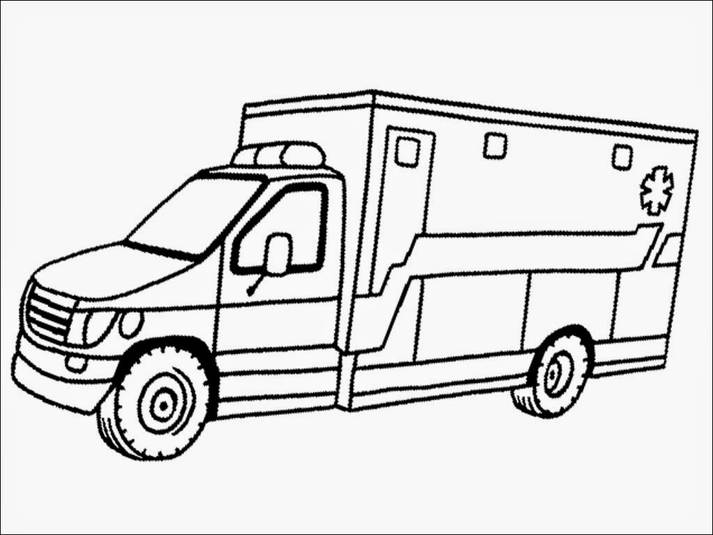 ambulance coloring pages - realistic ambulance coloring pages hootPostID= e3481fb5121c6ce d