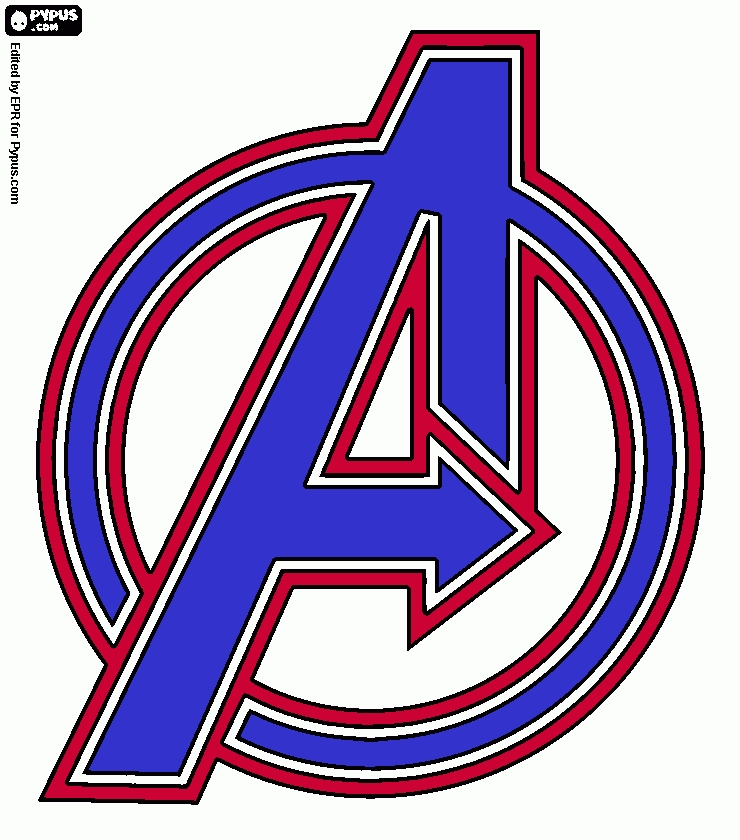 america coloring pages - coloring page avengers captain america