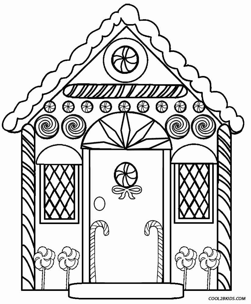 american flag coloring page - house coloring page printable printable gingerbread house coloring pages for kids cool2bkids 2