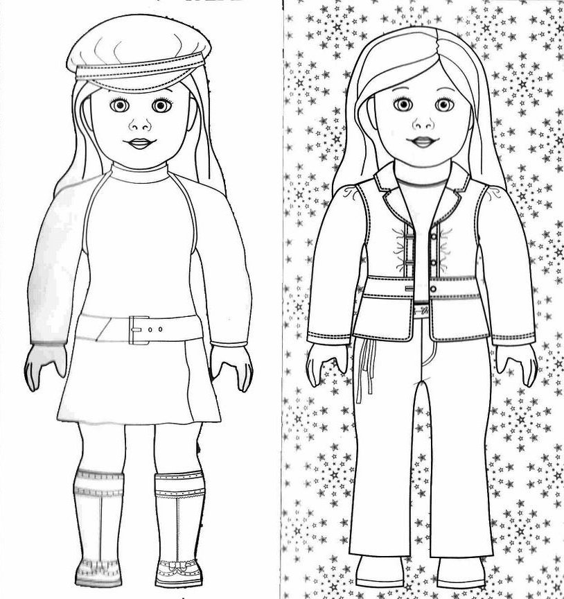 28 American Girl Coloring Pages Collections Free Coloring